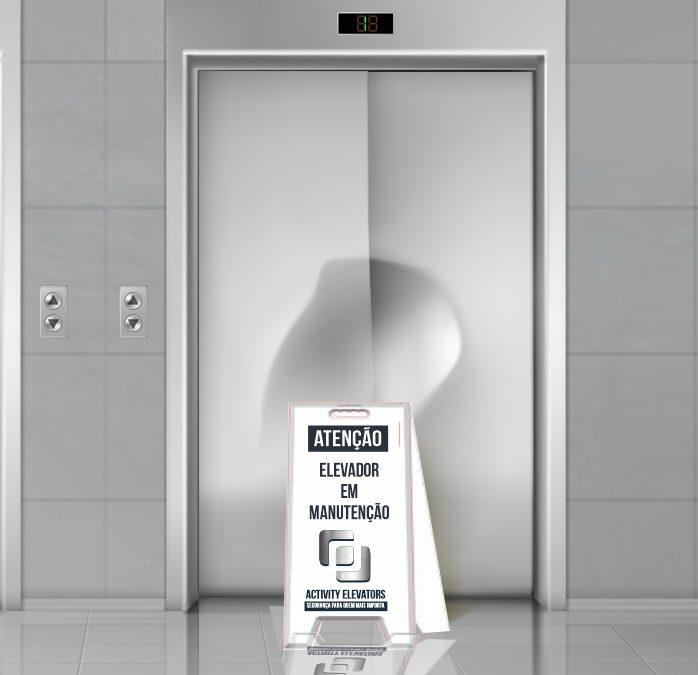 Como está a manutenção de seus elevadores?