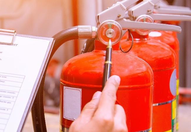 Como está a documentação de preventivo contra incêndios?