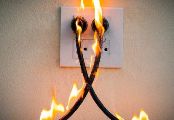 Princípio de incêndios nas unidades